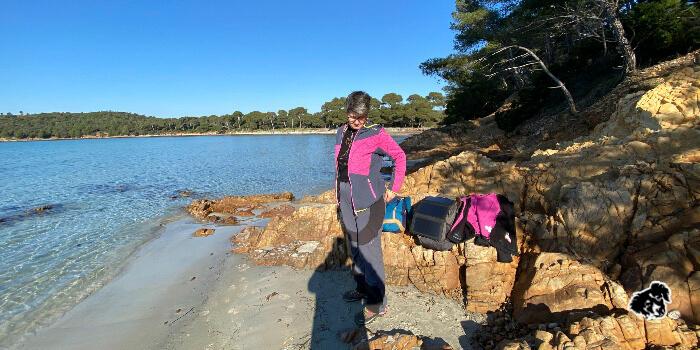Un tratto del sentier du littoral   cimento   uncanperdue