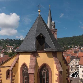 Castello di Wertheim, confluenza Tauber e Meno • uncanperdue